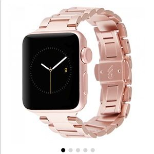Case mate new Apple Watch rose gold metal link